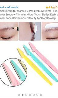 Free Facial eyebrow razors