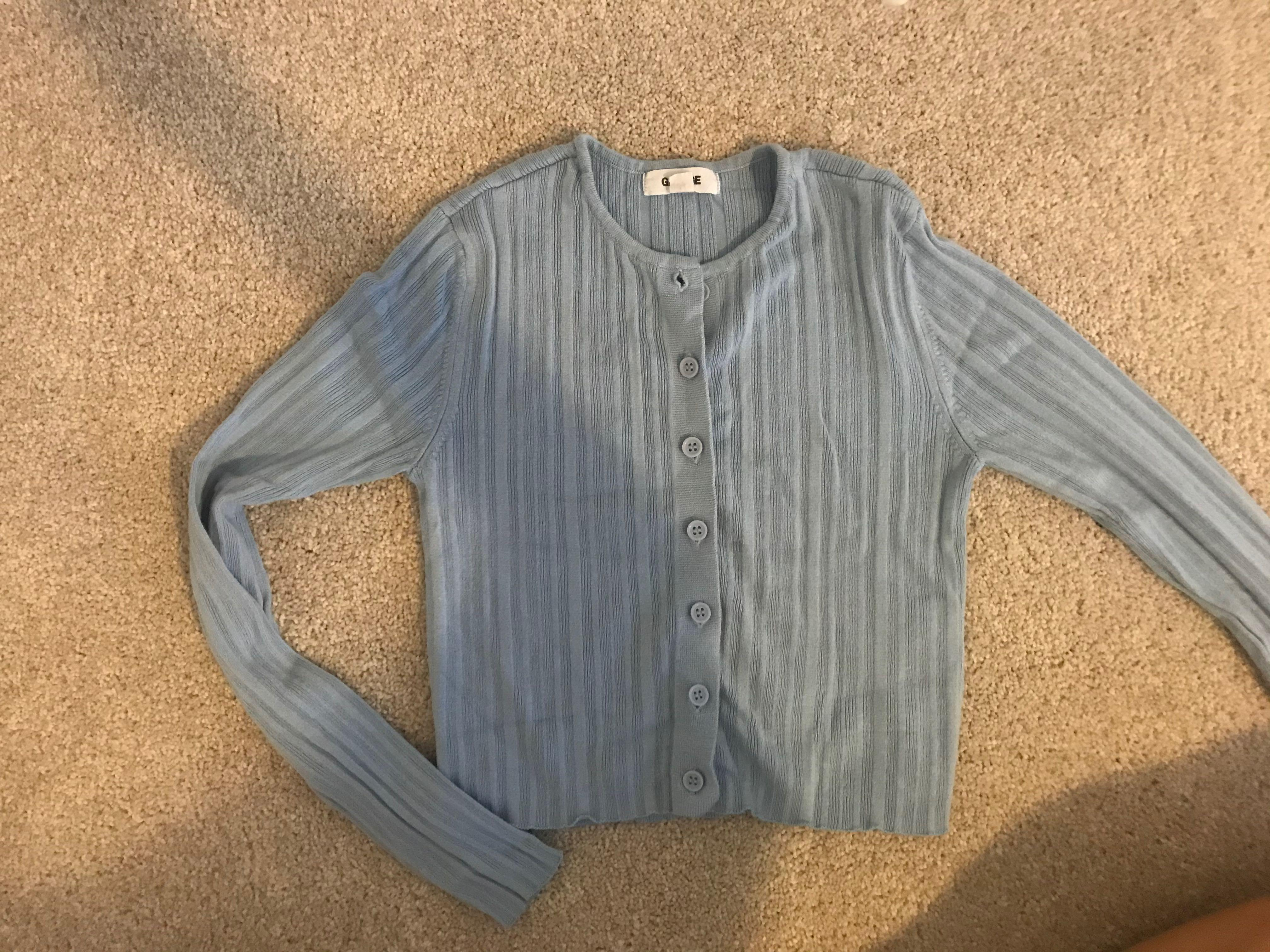 Garage ribbed cardigan