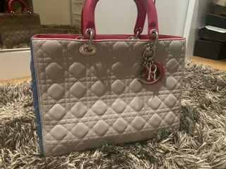 Lady Dior 3 tone big size
