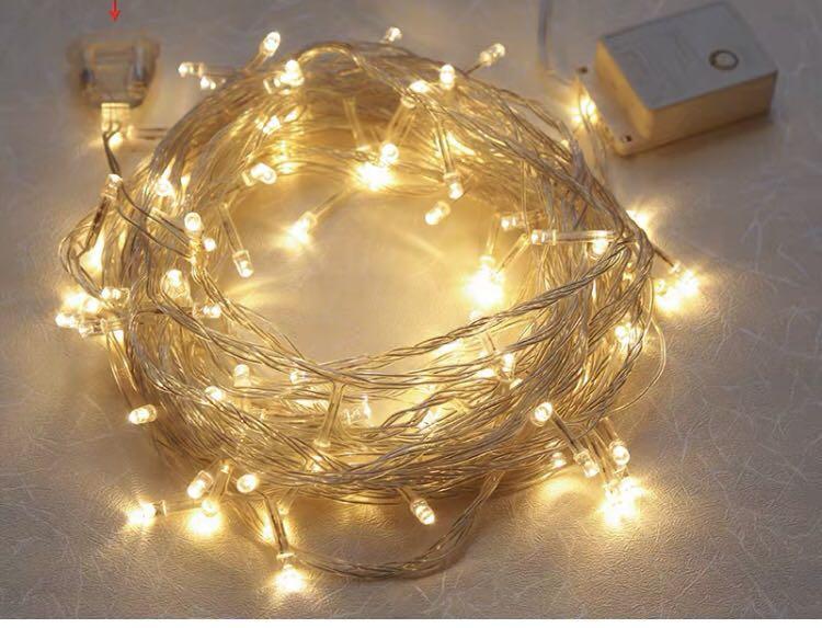 Lampu natal tumblr lamp 10 meter LED