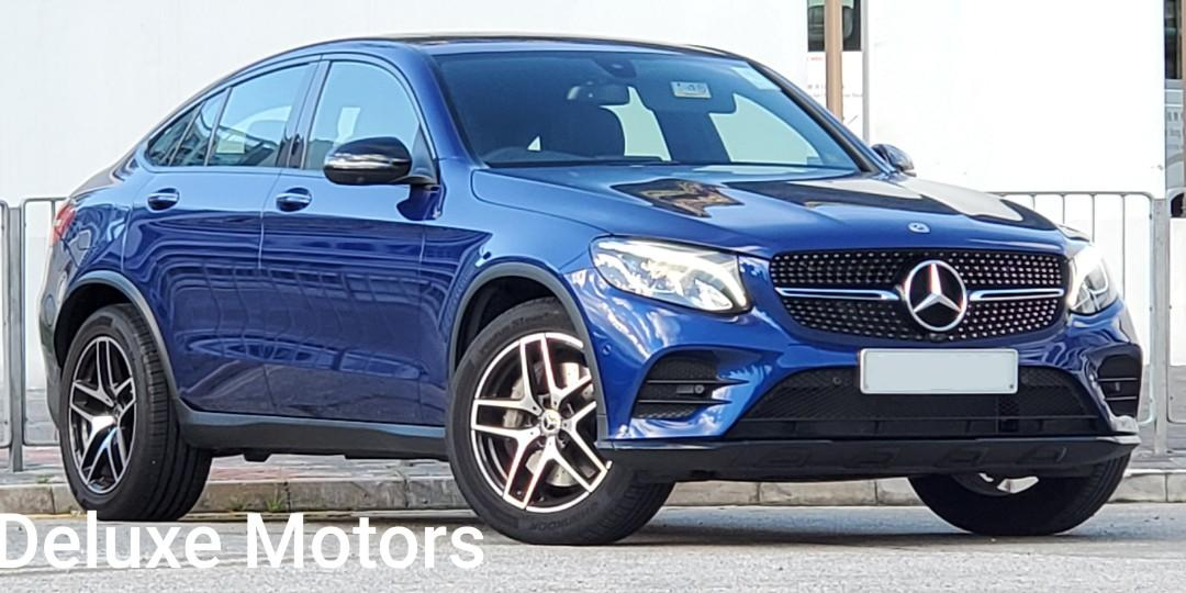 Mercedes-Benz GLC250 Coupe AMG Line (A)