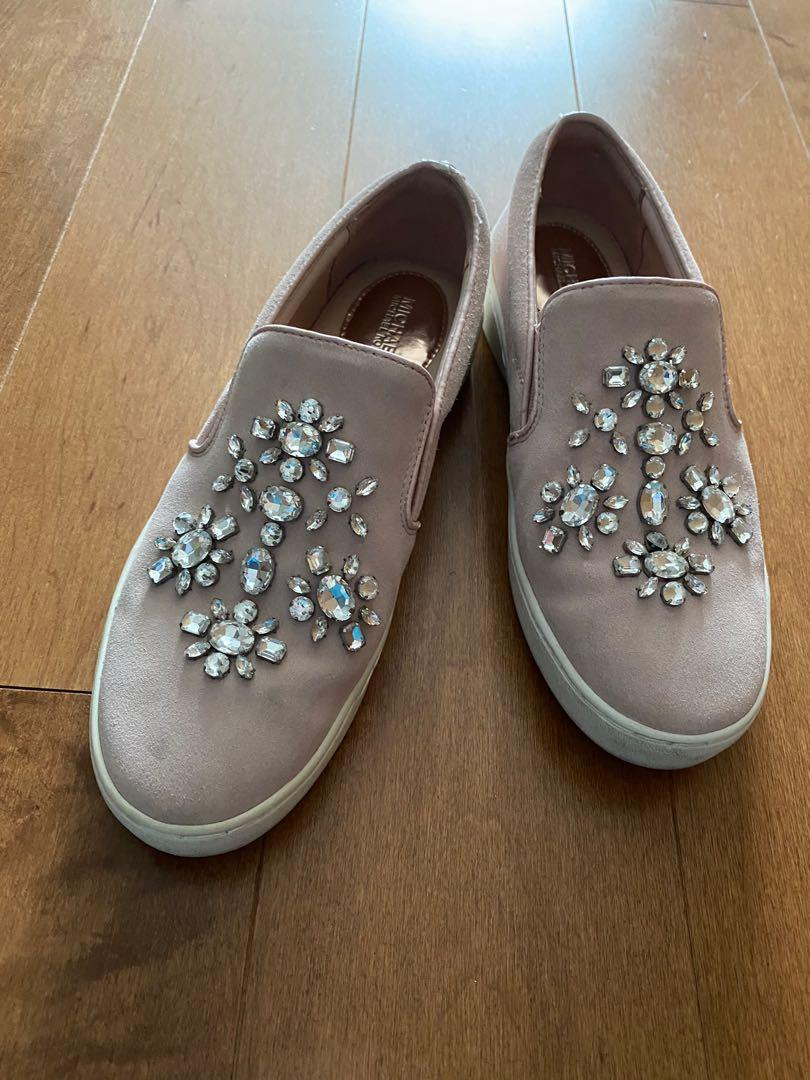 Michael Kors Dusty Pink loafers size 6.5
