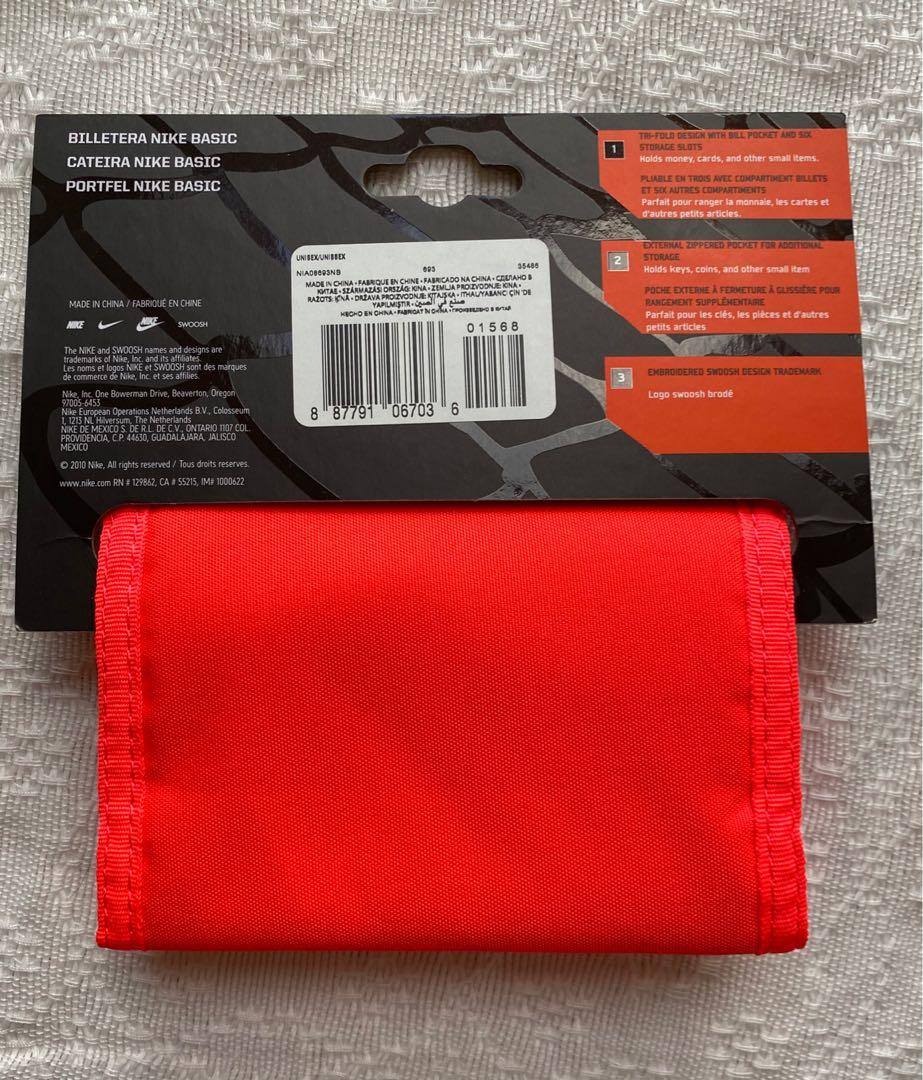 deletrear Detectable neumático  Nike Basic Wallet, Sports, Other Sports Equipment on Carousell