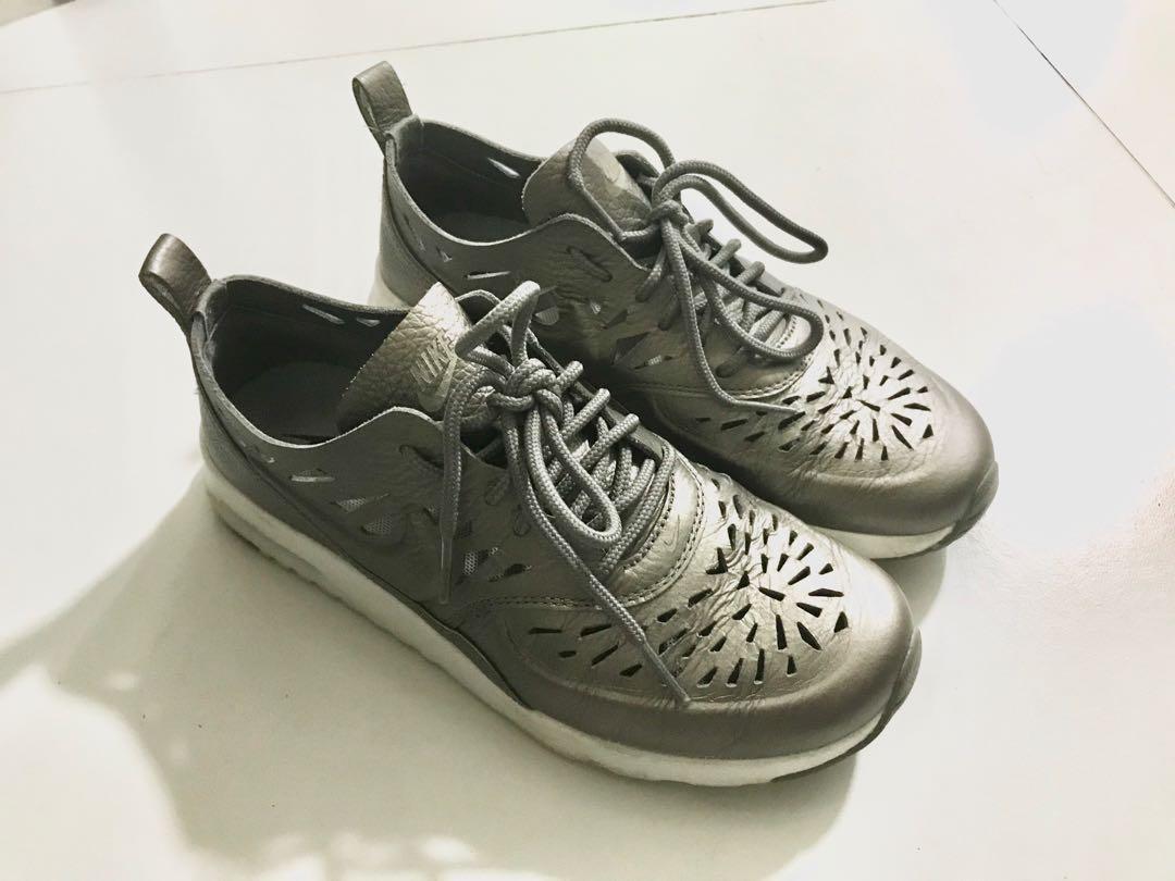 Nike Gold Cut Out Sneakers, Women's