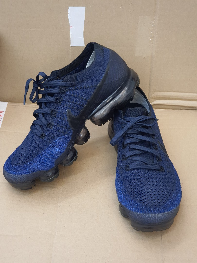 Nike vapormax dark blue rare color, Men