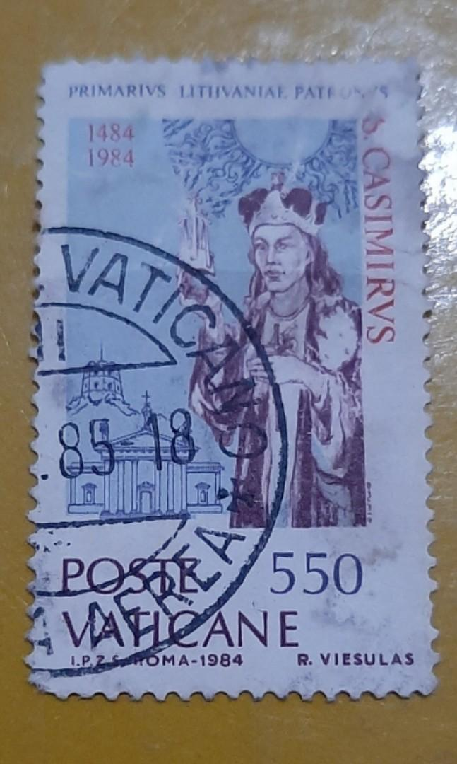 Perangko Vatican 1984