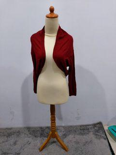 Perfavore Cardigan Maroon - NEW WITH TAG