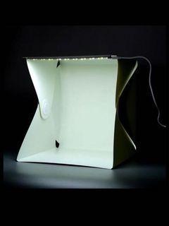 Photo box light box with led