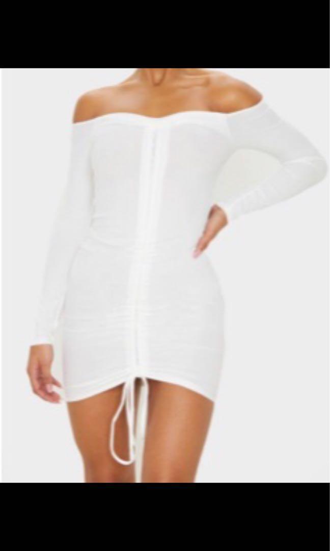 PLT strapless dress