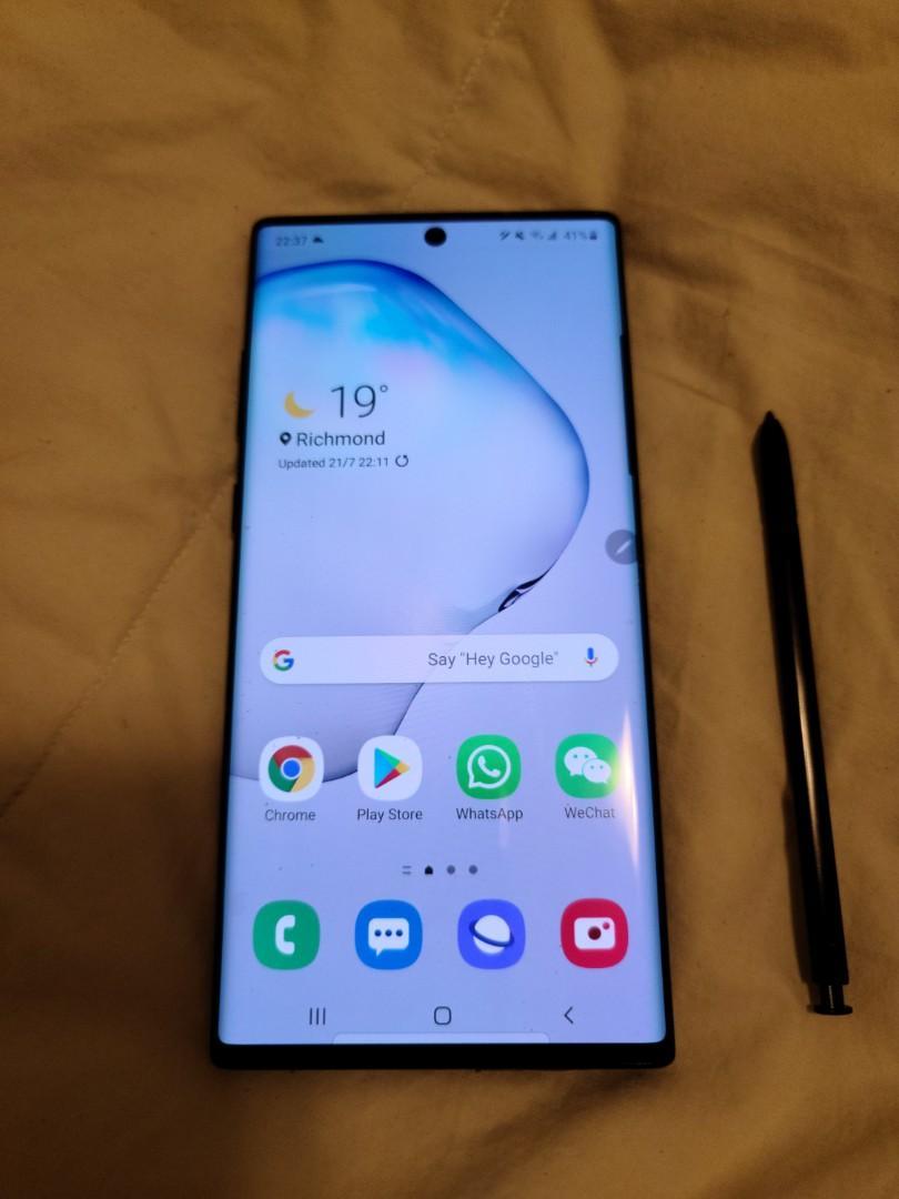 Samsung Note 10+ 256G Dual Sim version 95% New