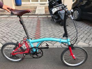 Sepeda lipat 3sixty like brompton