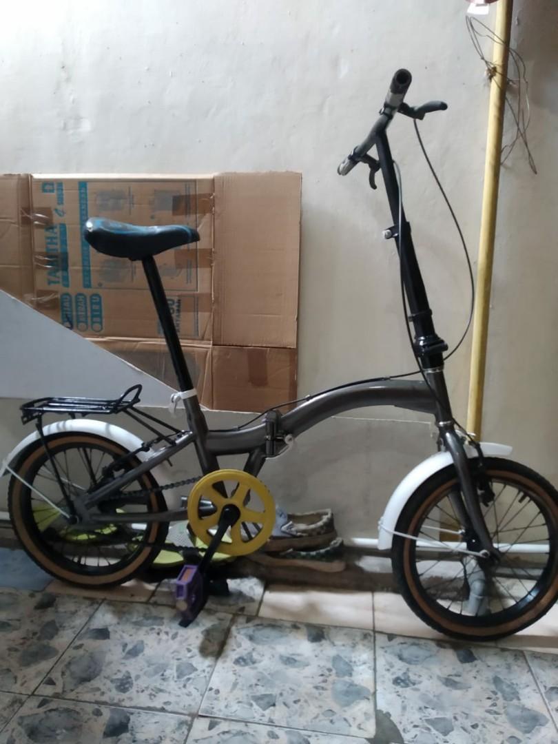 Sepeda Lipat United Modif Olah Raga Sepeda Di Carousell