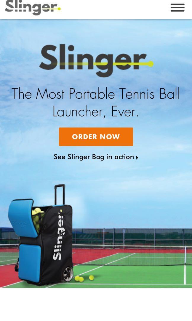 Slinger Bag Sports Sports Games Equipment On Carousell