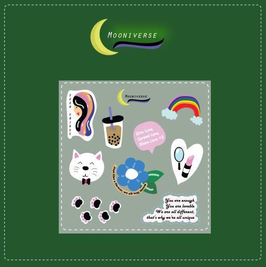 Sticker Set Moodboster