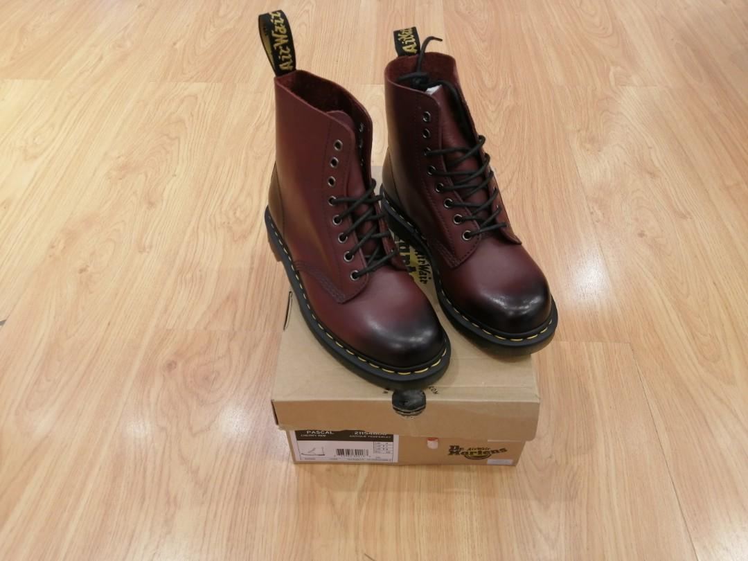 Unisex Dr. Martens Pascal Cherry Red