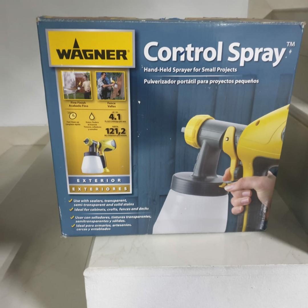 Wagner control spray