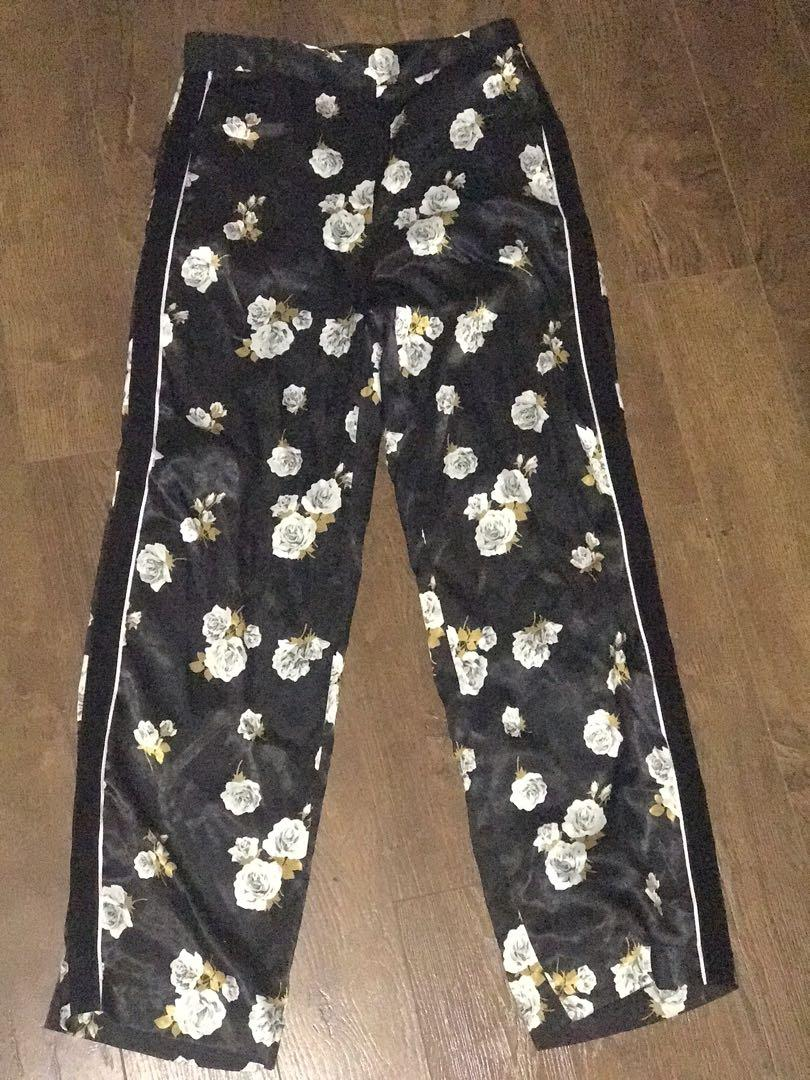 Zara satin trousers size S