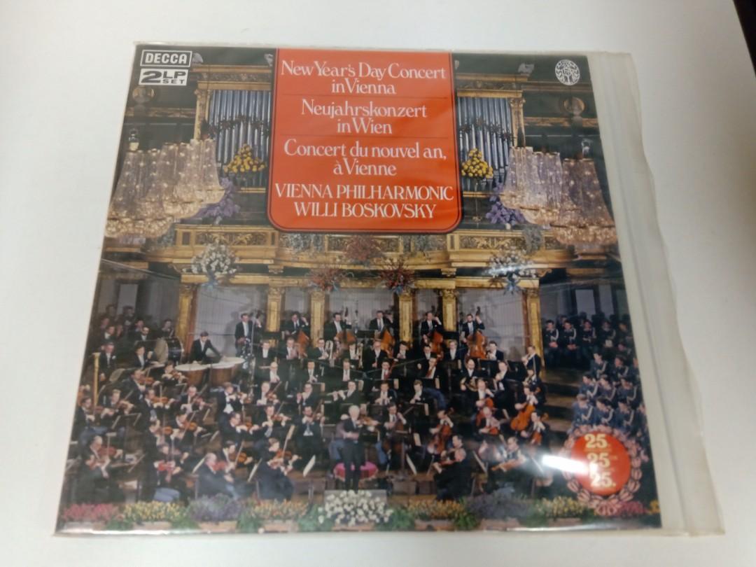 1979年維也納新年音樂會實況錄音 2LP版