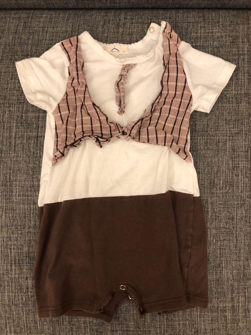 棉質寶寶連身衣 6M