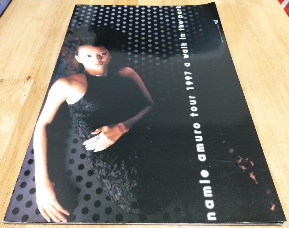 """安室奈美恵 / 安室奈美惠 / Namie Amuro / 時尚一派 / SUITE CHIC - namie amuro tour 1997 """"a walk in the park"""" 場刊 #stayhomeandwin"""