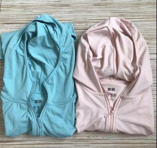 🛍 Bundle of Uniqlo Airism Hoodie Jacket
