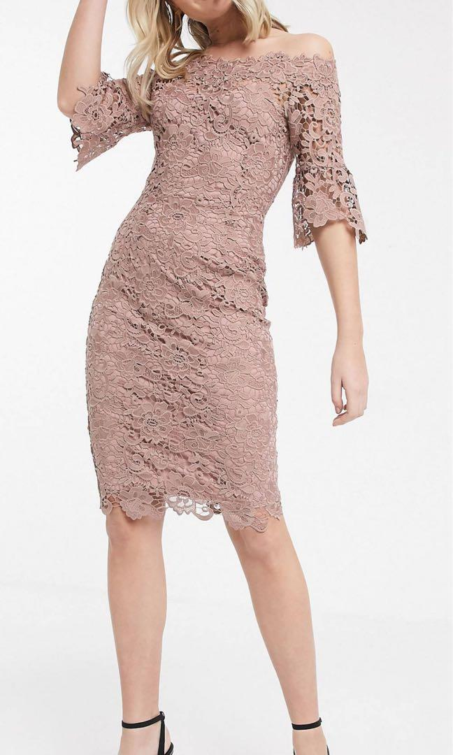 Beautiful Lace dress. Size 14-16 tall. Never worn before