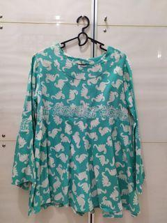 Blouse Batik Tosca