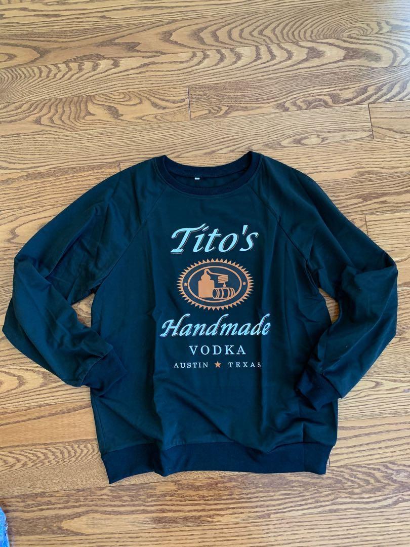 BNWT Tito's Vodka Sweater