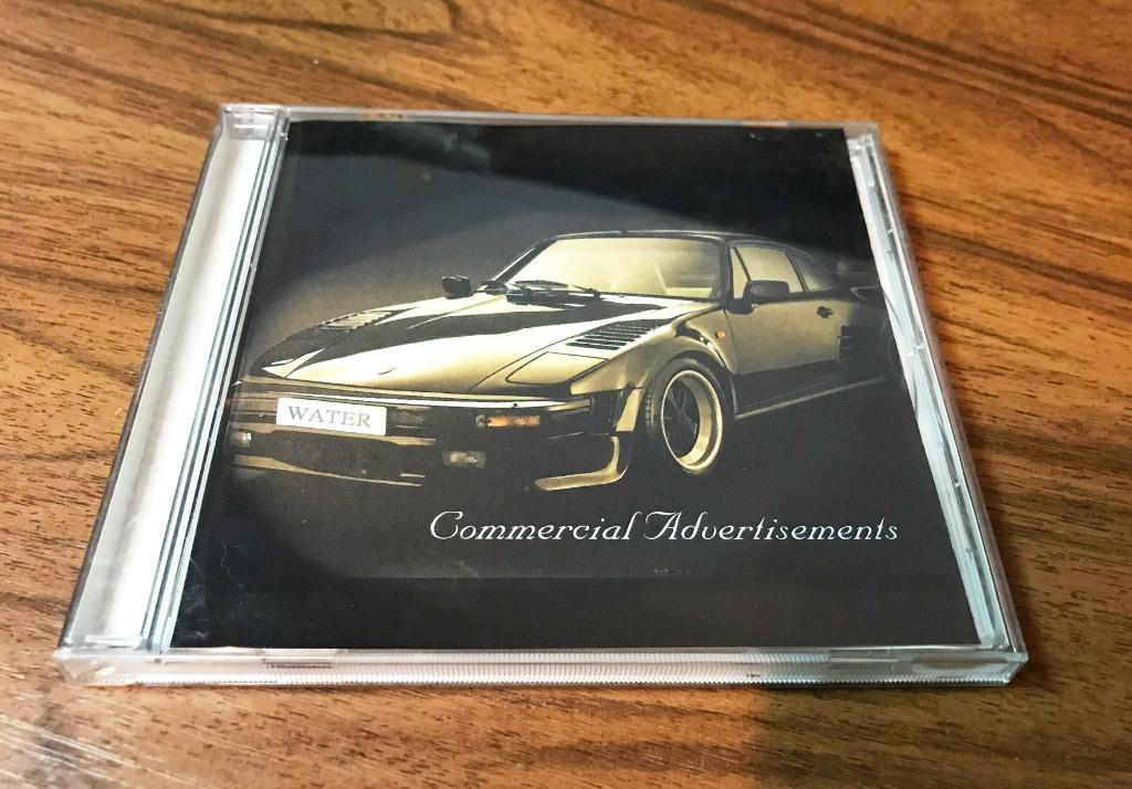 Commercial Aduertisements Water Music 【不分類CD 二手】