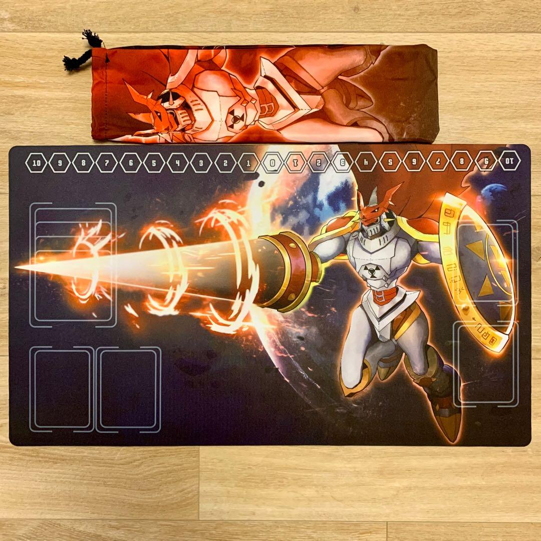Digimon Card Game Dukemon Gallantmon Playmat Toys Games Others On Carousell Listing gallantmon's stats, previous form and digivolution requirements. digimon card game dukemon gallantmon playmat