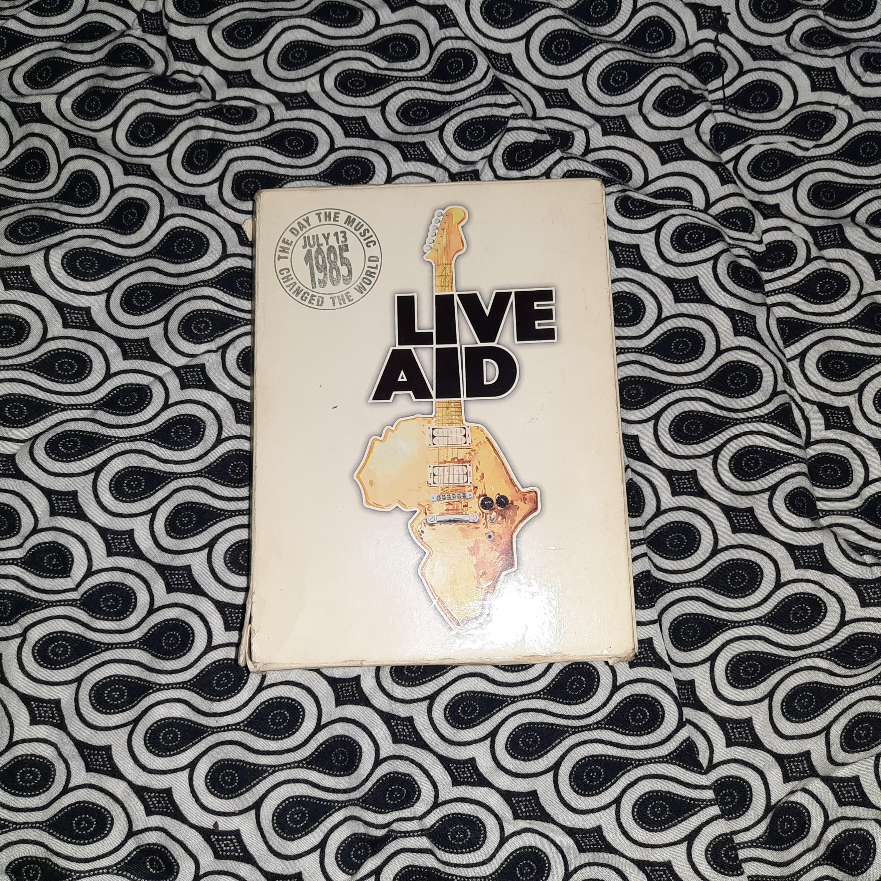 First Live Aid Concert, July 1985 DVD