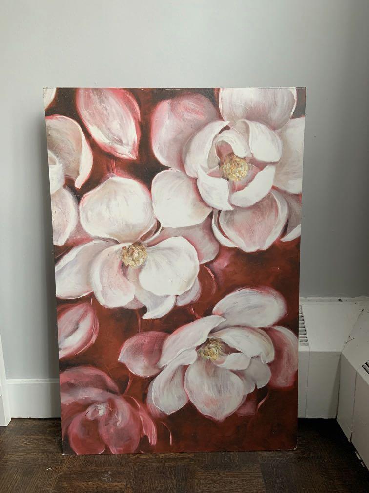 FLOWER PAINTING ART 🌸