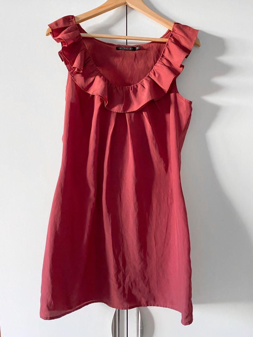 glassons pink dress
