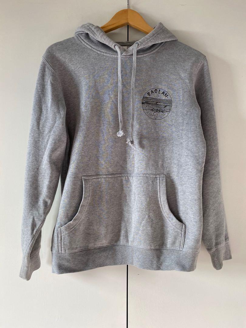 grey raglan surf emporium hoodie