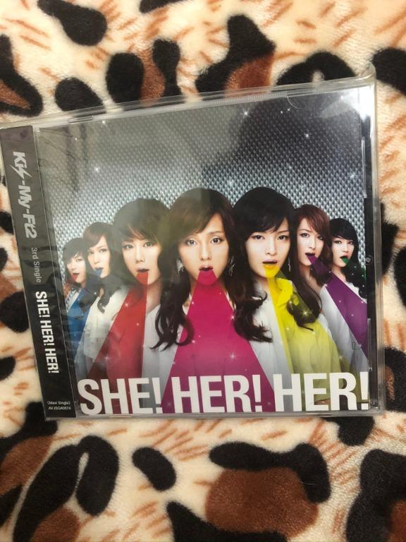 Kis-My-Ft2 SHE!HER!HER! 台版 通常盤 Poster:藤ヶ谷太輔