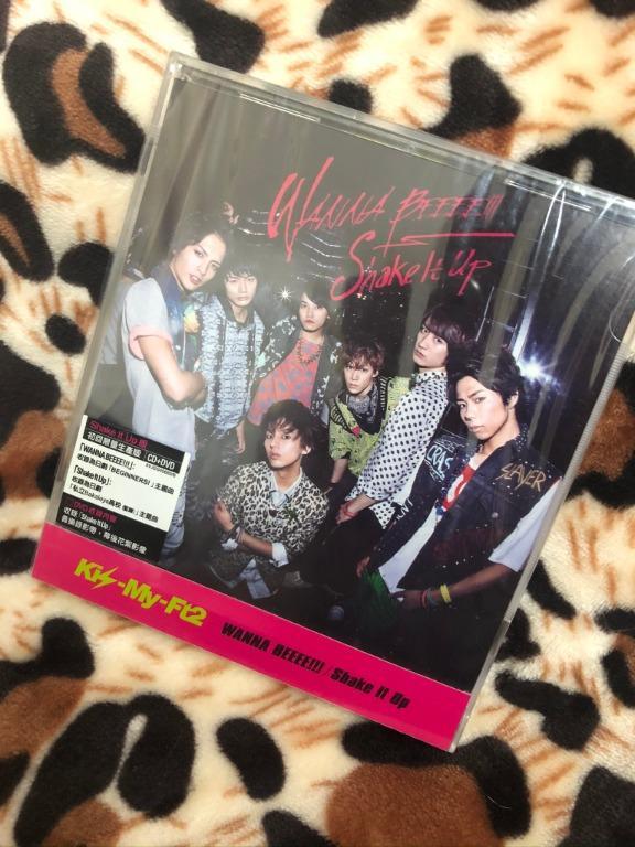Kis-My-Ft2 WANNA BEEEE!!!/Shake it up 台版 初回【Shake it up盤】