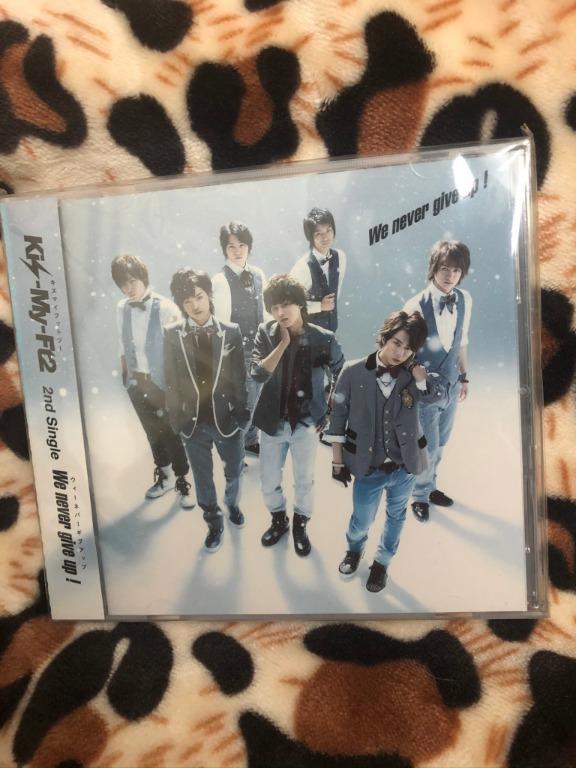 Kis-My-Ft2 We never give up 台版 初回 Music Video盤