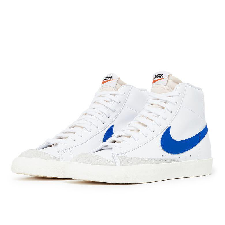 Nike Blazer Mid '77 white/blue, Men's