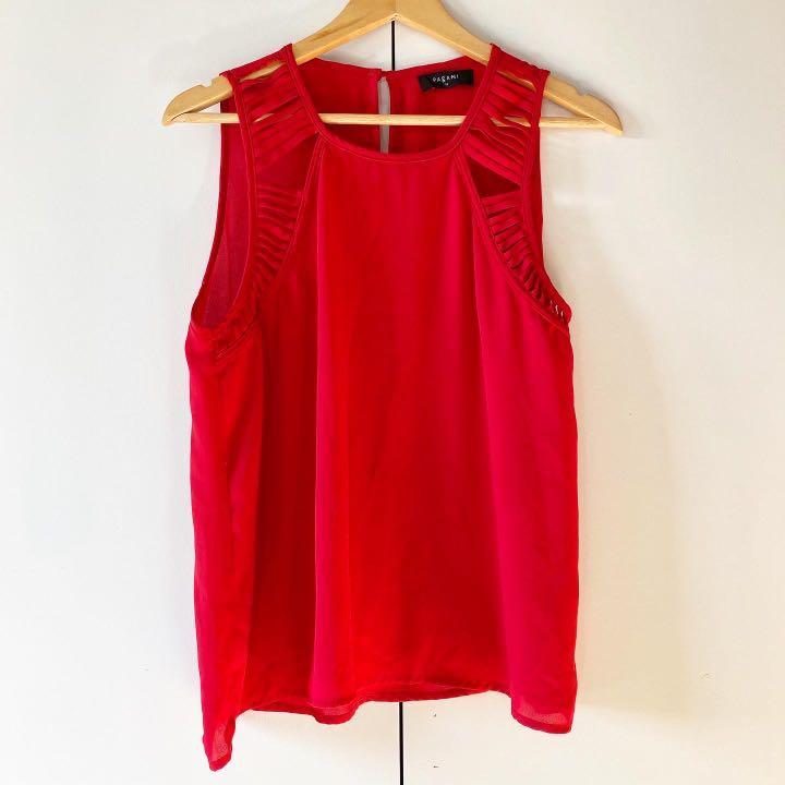pagani red top