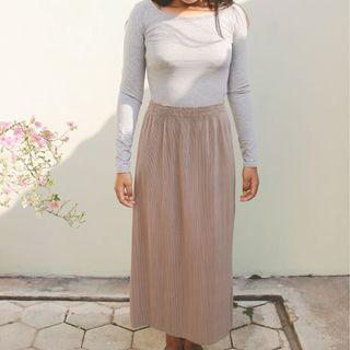 Plisket Skirt