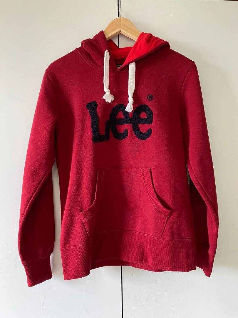 red lee hoodie