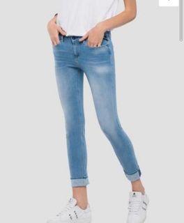 全新Replay skinny牛仔褲