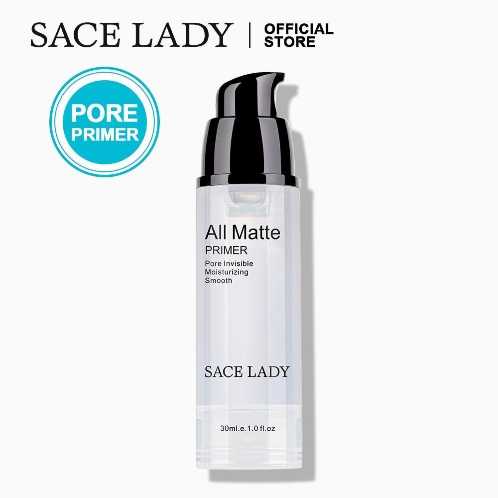Sace Lady Matte Pore Minimizer Face Primer Makeup Base Health