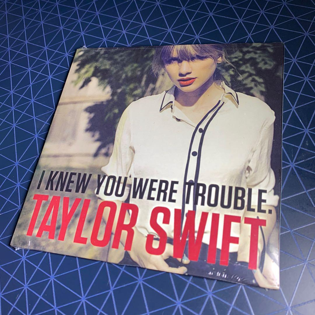 Taylor Swift I Knew You Were Trouble Limited Edition Cd Single Music Media Cds Dvds Other Media On Carousell