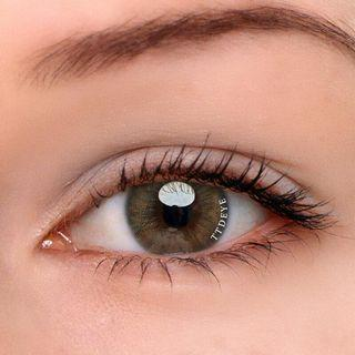 TTDEYE Real Caramel Brown Lens