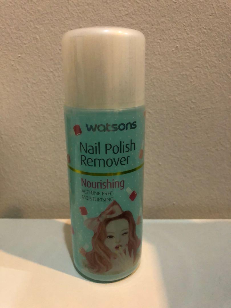 Watson S Nail Polish Remover Health Beauty Makeup On Carousell