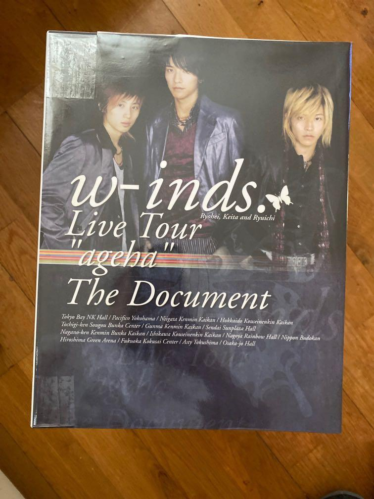 """w-inds. Live Tour """"Ageha"""" The Document 寫真"""