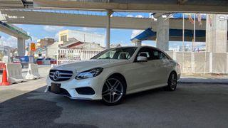 2014 Mercedes-Benz E250 AMG Line facelift 2.0 turbo sedan (A) - unregistered low mileage Japan spec recond LOAN AVAILABLE