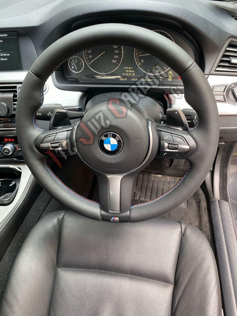 BMW F10 M sport paddle shifter steering upgrade, Car Accessories, Accessories on Carousell