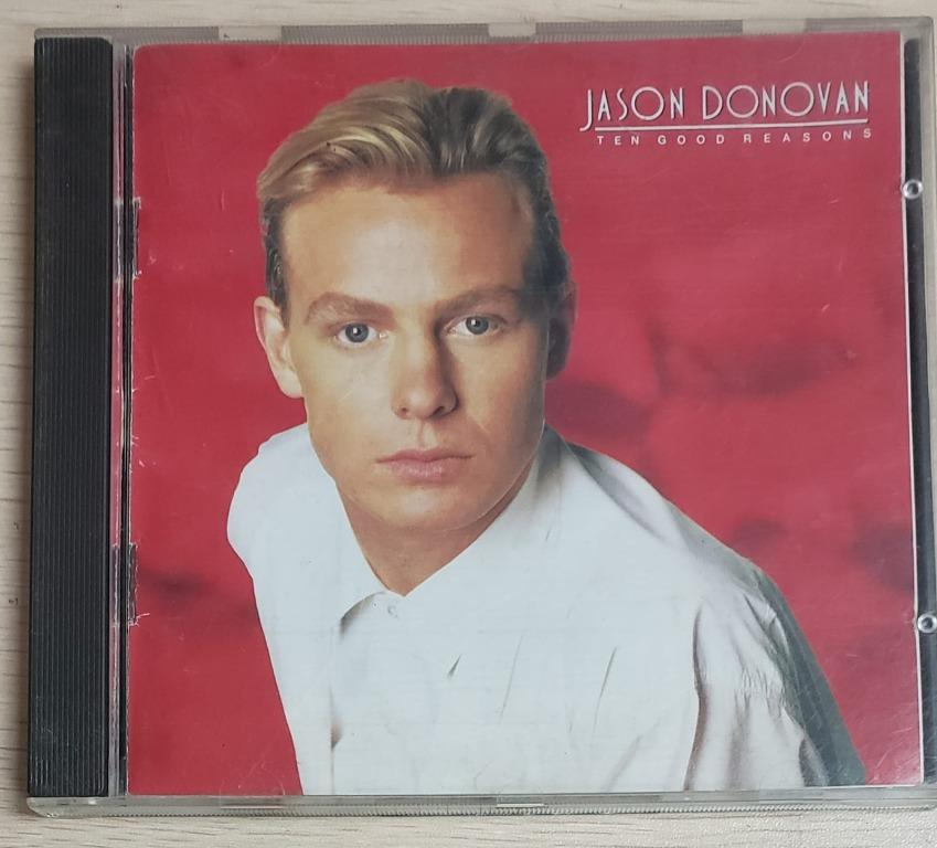 CD JASON DONOVAN TEN GOOD REASONS 1989日版 MADE IN JAPAN 包平郵